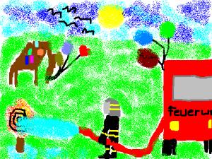 Feuerwehr_Partytisch